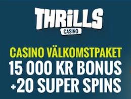 thrills bonus