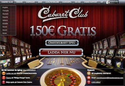 Cabaret Club screen
