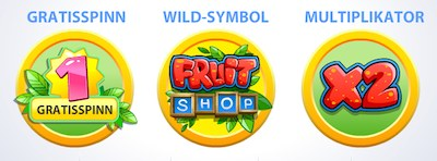 Fruit Shop funktioner