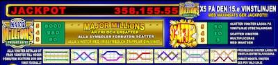 Major Millions funktioner