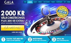 Gala Casino front