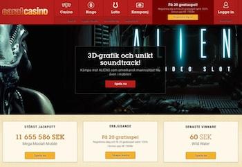 Carat Casino front