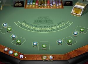 Blackjack Perfect Pair
