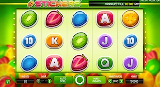 Stickers slot Spelacasinos