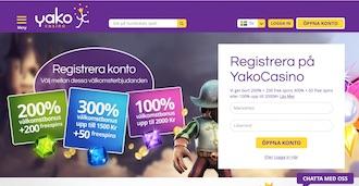 Yako Casino Spelacasinos
