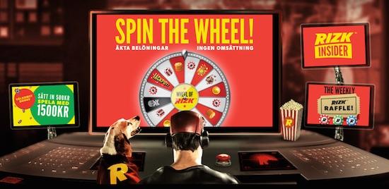 Rizk casino spelacasinos