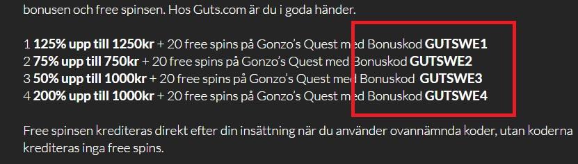 bonuskodexempel