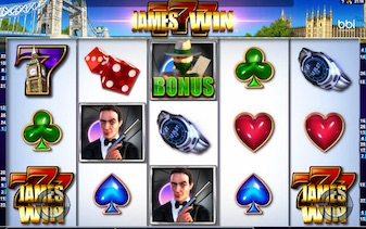 James Win automat