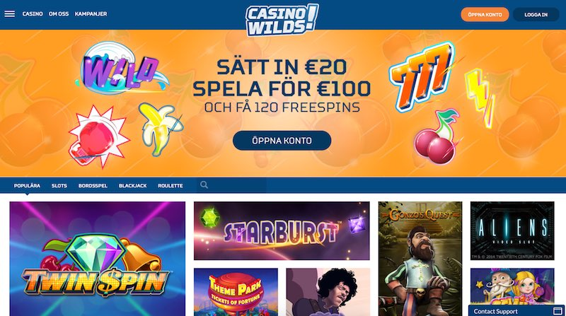 Casinowilds svenskt