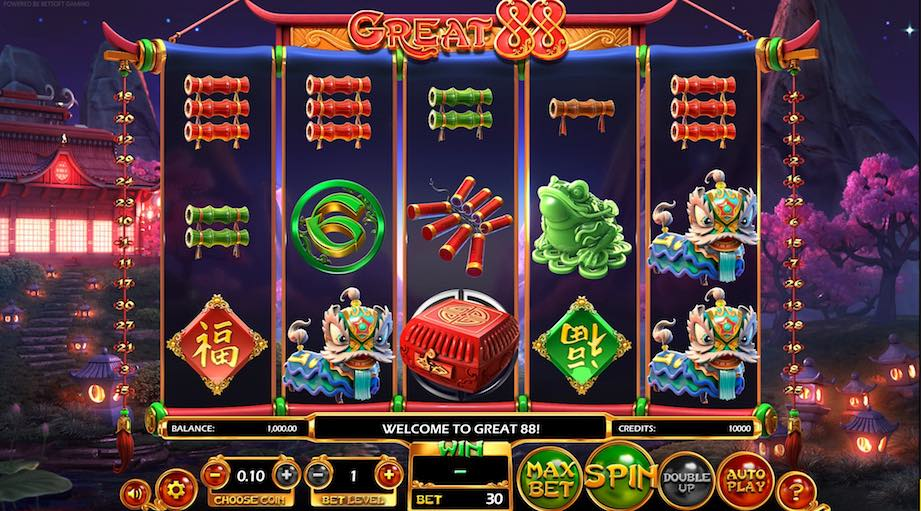 Great 88 slot betsoft